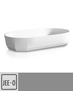 JEE-O | Aufsatzwaschschale Bloom oval | 80cm | aus DADOquartz