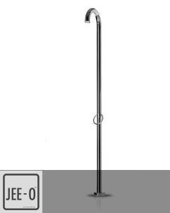 JEE-O | Standdusche Original 01 | Edelstahl poliert