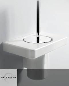 WC-Bürstenhalter Piano | Keramik, Edelstahl