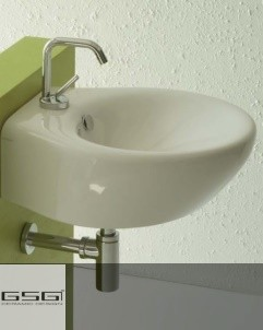 Waschbecken Touch 47 | weiß