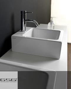 GSG | Handwaschbecken Square | weiß glänzend