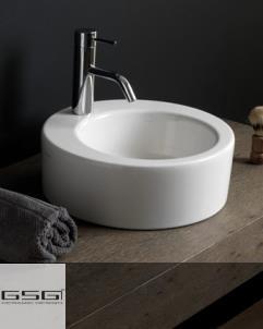 GSG | Waschbecken Ring | weiß glänzend