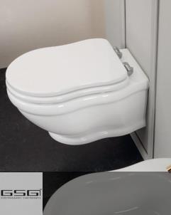 Wand-WC aus der Serie Time Collection von GSG | weiß