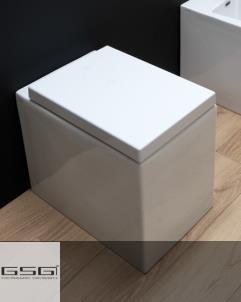 GSG | Stand WC | Serie OZ | weiß | mit WC-Sitz