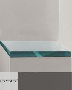 WC-Sitz Glass | transparenter Kunststoff