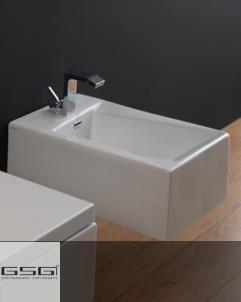 Wandbidet OZ | 34cm | weiß glänzend