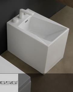 Standbidet OZ | 34cm | weiß glänzend