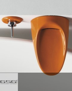 Wannnenrandarmatur Touch | orange