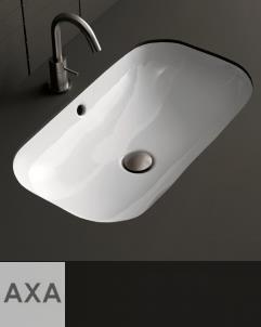 Axaone | Unterbauwaschbecken Ciotola | 67x40