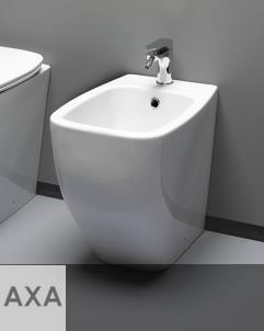 Axaone | Standbidet Serie White Jam | weiß glänzend