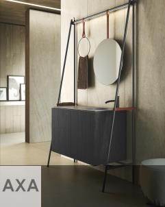 Axaone Altalena | Standwaschtisch | 130x48 | matera matt | Pino Nero
