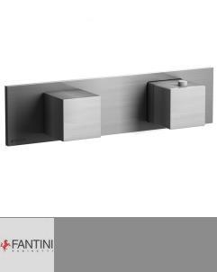 Fantini Mint | Unterputzthermostat | 1-4-Wege | Edelstahl