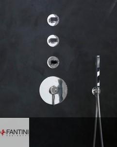 Thermostat Venezia | 3-Wege-Thermostat | Handbrauseset Venezia | Kopfbrause Milano