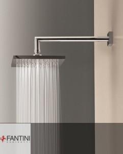 Fantini Kopfbrause | 200mm | wandmontiert mit 30cm Wandarm