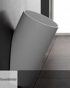 Treemme wandhängender Waschtisch Blok | weiß