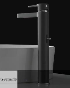 Treemme | Einhebelmischer | Serie Klab | hoher Auslauf | matt schwarz