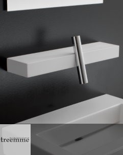 Treemme Waschtischarmatur Blok | Cristalplant / chrom