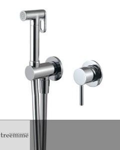 Unterputz Handbrauseset am WC | Serie Up | 5777 | chrom