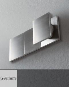 Treemme Unterputzmischer | 5mm | 1 Weg ohne Umschalter | quadratischer Betätigungsknauf