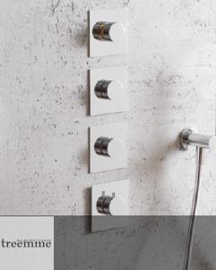 3 Wege-Unterputzmischer | 7275EA | chrom (CC)  | mit separatem Brauseset (nicht im Lieferumfang)