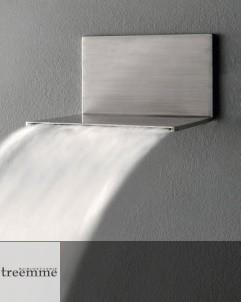 Treemme Schwallbrause 5mm | Edelstahl gebürstet