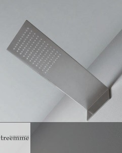Treemme Regenbrause 5mm | Edelstahl gebürstet