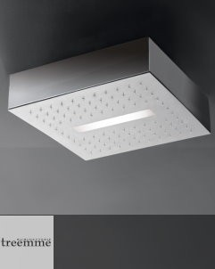 Regenbrause Light | mit LED Beleuchtung | Unterbauvariante