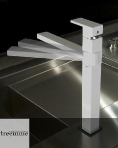 Treemme | Küchenarmatur | Serie Q | weiß matt