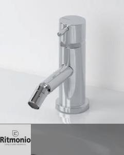 Einhebel-Bidetmischer Diametrotrentacinque | chrom | schwenkbarer Auslauf