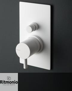 2- Wege Unterputzmischer Diametro35 | weiß