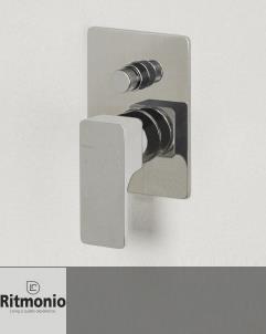 2- Wege Unterputzmischer Glitter | chrom