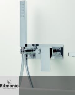Unterputz Duschenmischer Glitter | chrom