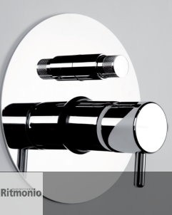 2-Wege Unterputzmischer | Paolo e Francesca | chrom glänzend