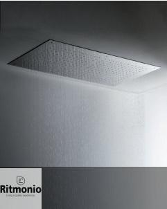Regenbrause Almenoindue | Einbaudeckenbrausepaneel 90x50 cm | Edelstahl