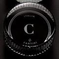 Kristallgriffe Serie Venezia | schwarz l H und C | 65mm | N646C5 / N647C5