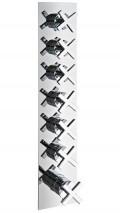 Unterputzthermostat XC | 6 separate Abgänge | (7264XC)