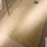 Banos10 | Maß-Duschboden Elements | Farbton: Caliza