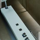 Duschpaneel Natural | Solidstone | mit Seitenstrahldüsen