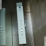 Duschpaneel Natural Liso | Solidstone | mit Seitenstrahldüsen