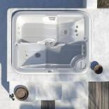 Außenwhirlpool Formentera | 214x175 cm