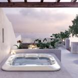 Außenwhirlpool Mallorca | 228x228 cm