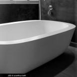 Badewanne Acanthus | DADOquartz | weiß | 185x111cm