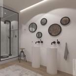 JEE-O | Waschtischsäule Soho | 36x36x92cm | aus DADOquartz