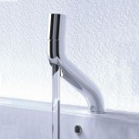 JEE-O | Waschtischarmatur Flow | Edelstahl gebürstet | Brian Sironi