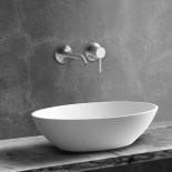 JEE-O | Unterputz-Waschtischarmatur Slimline | Edelstahl gebürstet | Lammert Moerman