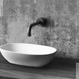 JEE-O | Wasserauslauf Pure | Hammerschlag schwarz | 304mm