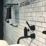 JEE-O | Objekte Soho | Hammerschlagbeschichtung | schwarz matt