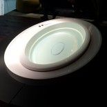 Ovaler Skimmer-Whirlpool Fusion 231 | Gruppo Treesse Präsentation Cersaie