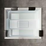 Badepool Rest | 240x195 | mit Ghost-System und Beleuchtung