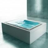 Skimmer-Whirlpool Fusion 230 | Gruppo Treesse | Überlaufbadewanne mit Ghost System | freistehende Installation | Version 2013